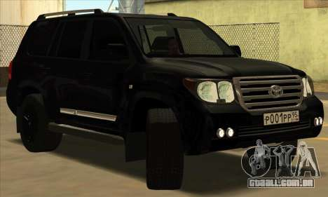 Toyota Land-Cruiser 200 para GTA San Andreas