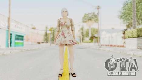 Dead Or Alive 5 LR - Christie Casual New Hair para GTA San Andreas segunda tela
