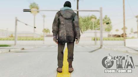 Bourne Conspirancy Homeless para GTA San Andreas terceira tela