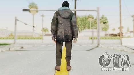 Bourne Conspirancy Homeless para GTA San Andreas terceira tela