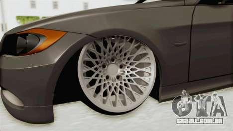 BMW 330i E92 Camber para GTA San Andreas vista traseira