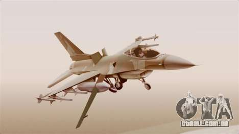 F-16A General Dynamics Chadian Air Force para GTA San Andreas