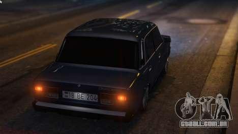 Armado Pregar Para Auto 2107 para GTA 5
