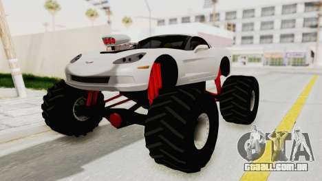 Chevrolet Corvette C6 Monster Truck para GTA San Andreas
