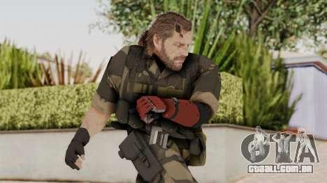 MGSV The Phantom Pain Venom Snake No Eyepatch v4 para GTA San Andreas