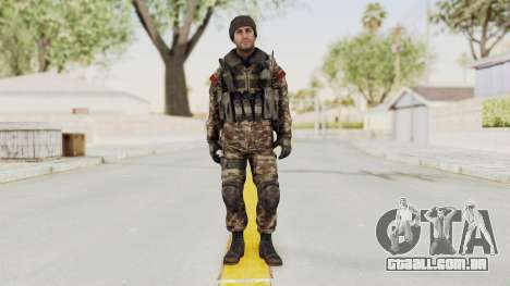 CoD MW3 Russian Military SMG v2 para GTA San Andreas segunda tela