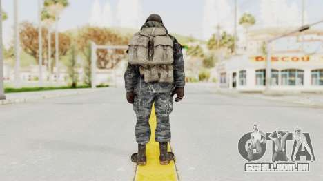 COD MW2 Ghost Ops para GTA San Andreas terceira tela