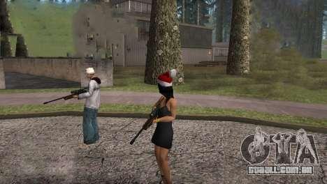 VIP Sniper Rifle para GTA San Andreas quinto tela