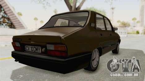Dacia 1310 Berlina 2001 Stock para GTA San Andreas traseira esquerda vista