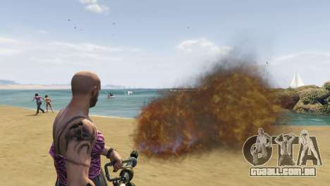 GTA 5 Real Flamethrower 1.5 sétima screenshot