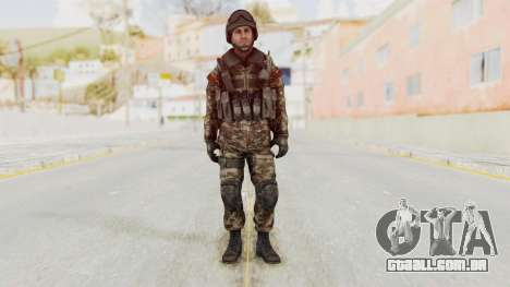 CoD MW3 Russian Military SMG v1 para GTA San Andreas segunda tela