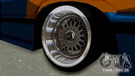 Honda Civic EF9 HellaFlush para GTA San Andreas vista traseira
