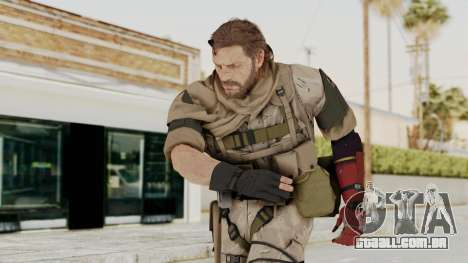 MGSV The Phantom Pain Venom Snake Sc No Patch v3 para GTA San Andreas
