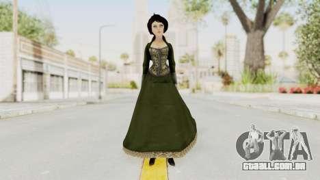 Bioshock Infinite Elizabeth Gibson para GTA San Andreas segunda tela