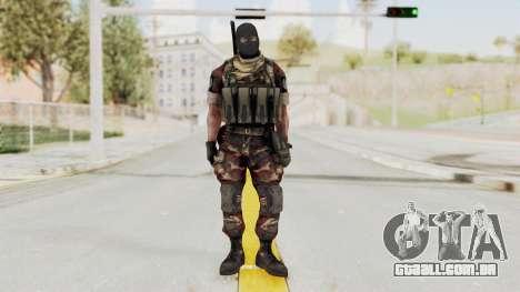 Battery Online Russian Soldier 3 v2 para GTA San Andreas segunda tela