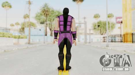 Mortal Kombat X Klassic Rain para GTA San Andreas terceira tela