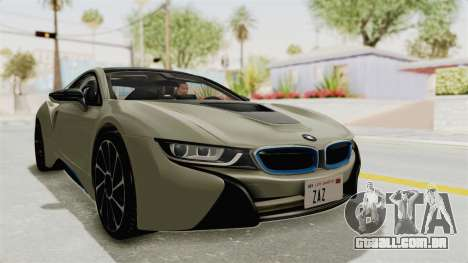 BMW i8-VS 2015 para GTA San Andreas vista direita