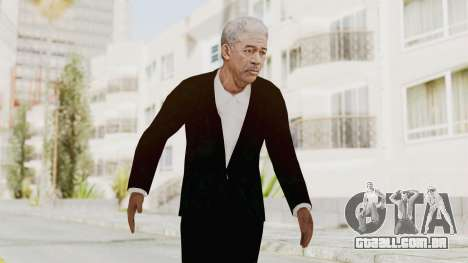 Batman Begins - Morgan Freeman para GTA San Andreas