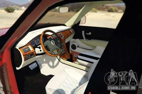 GTA 5 2014 Nissan Patrol Impul voltar vista