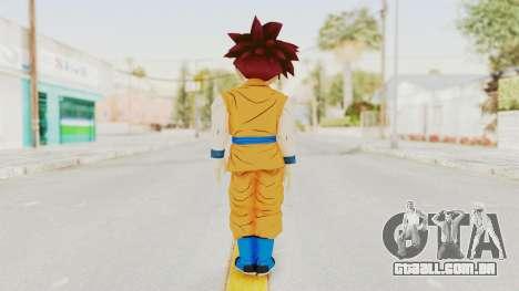 Dragon Ball Xenoverse Gohan Teen DBS SSG v2 para GTA San Andreas terceira tela