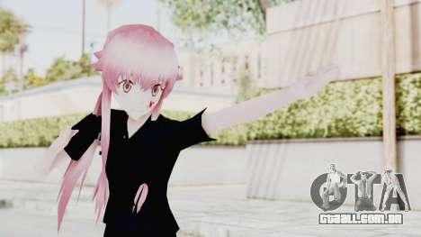 Gasai Yuno Black Dress para GTA San Andreas