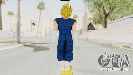 Dragon Ball Xenoverse Vegito SSJ para GTA San Andreas terceira tela