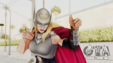 Marvel Future Fight - Thor (Jane Foster) para GTA San Andreas
