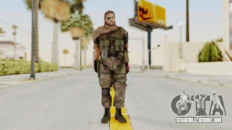 MGSV The Phantom Pain Venom Snake Scarf v6 para GTA San Andreas segunda tela
