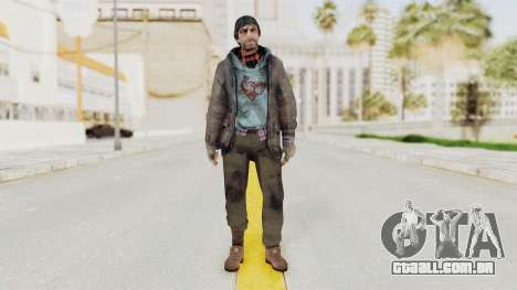 Bourne Conspirancy Homeless para GTA San Andreas segunda tela