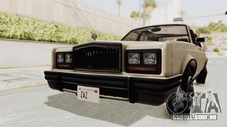 GTA 4.5 Greenwood v.0.9 para GTA San Andreas vista direita