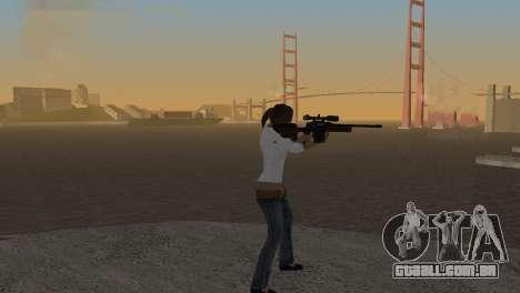 VIP Sniper Rifle para GTA San Andreas segunda tela