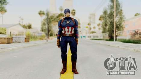 Captain America Civil War - Captain America para GTA San Andreas segunda tela