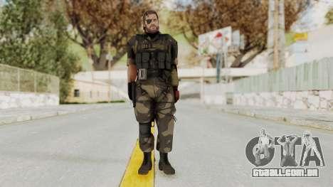 MGSV The Phantom Pain Venom Snake Splitter para GTA San Andreas segunda tela