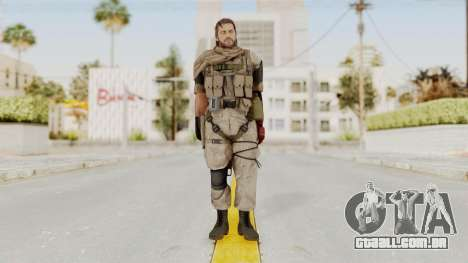 MGSV The Phantom Pain Venom Snake Sc No Patch v3 para GTA San Andreas segunda tela