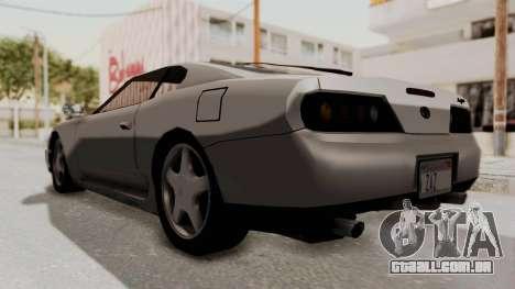 Jester Supra para GTA San Andreas vista direita