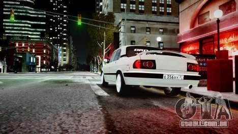 GAZ 3110 Turbo WRX STI para GTA 4 vista de volta