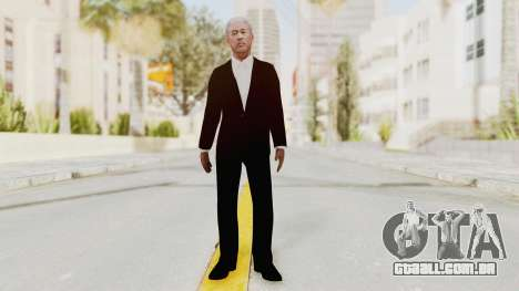 Batman Begins - Morgan Freeman para GTA San Andreas segunda tela