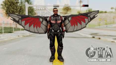 Captain America Civil War - Falcon para GTA San Andreas segunda tela