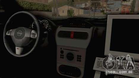 Opel Corsa para GTA San Andreas vista interior