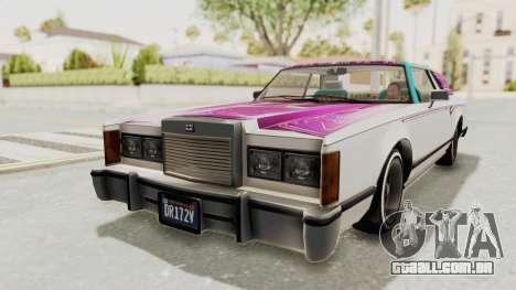GTA 5 Dundreary Virgo Classic Custom v2 IVF para o motor de GTA San Andreas