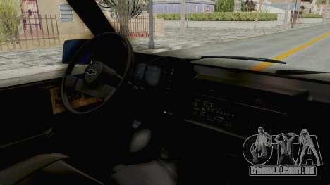 Chevrolet Astro 1988 para GTA San Andreas vista direita