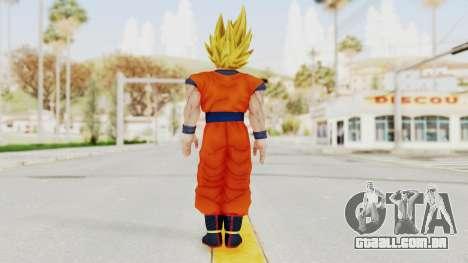 Dragon Ball Xenoverse Goku SSJ2 para GTA San Andreas terceira tela