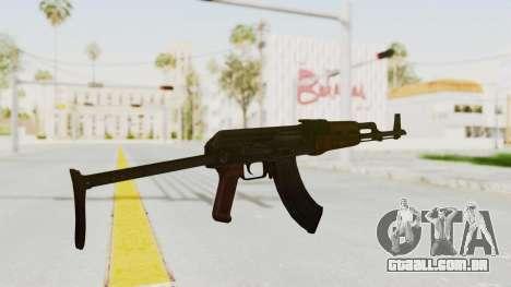 kbk AKMS para GTA San Andreas terceira tela