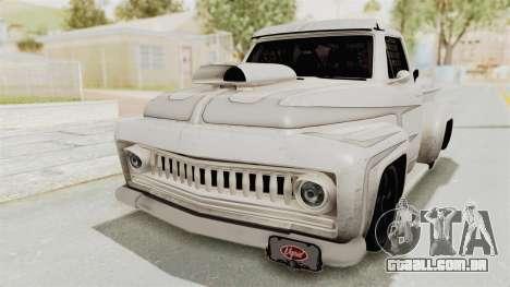 GTA 5 Slamvan Race PJ1 para GTA San Andreas vista traseira