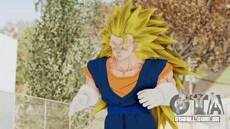 Dragon Ball Xenoverse Vegito SSJ3 para GTA San Andreas
