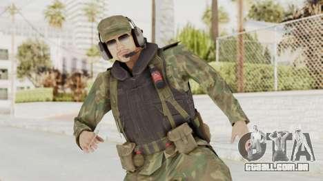 MGSV Ground Zeroes US Pilot v2 para GTA San Andreas