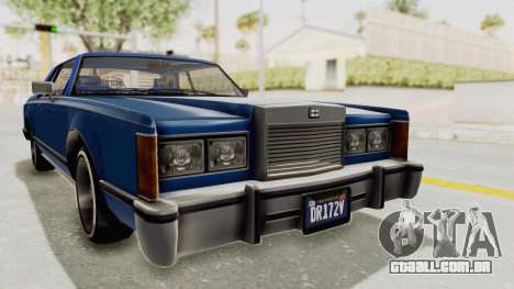 GTA 5 Dundreary Virgo Classic Custom v1 IVF para GTA San Andreas vista direita