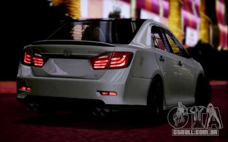 Toyota Camry V6 Sprot Edition para GTA San Andreas esquerda vista