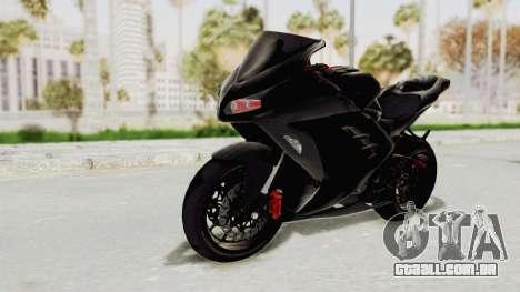 Kawasaki Ninja 300 FI Modification para GTA San Andreas vista direita