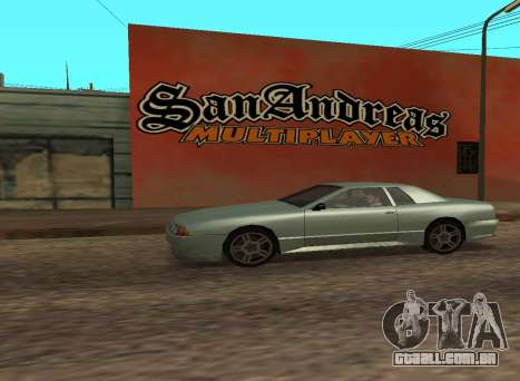 San Andreas Multiplayer Graffiti para GTA San Andreas terceira tela